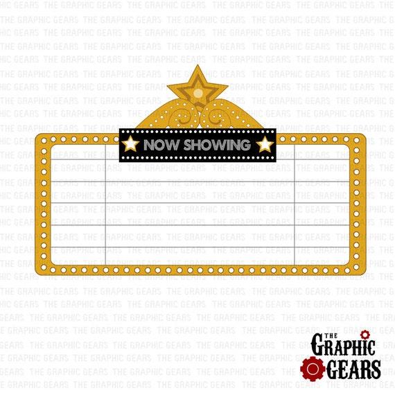 Movie Theater Clip Art Free Marquee Clip Art Movie