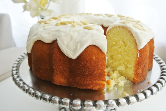Name Puertorriqueno: Items Similar To Extra Moist Almond Cake With Icing