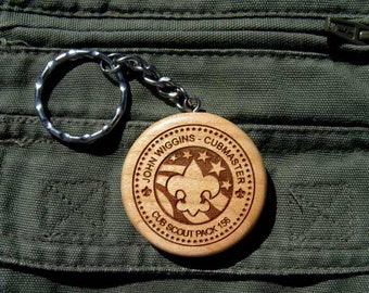 Scout Leader Key Chain
