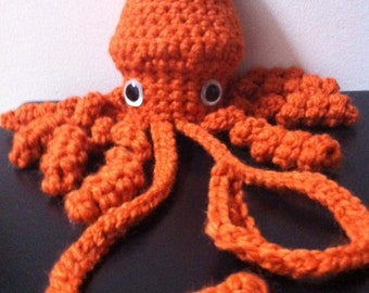 Giant Squid amigurumi crochet pattern from dorklandia Immediate download