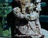 Primitive Doll Pattern EPattern PDF Antique Reproduction Early Style Old Bonnet Doll Folkart Folk Art  by Hickety Pickety AS35