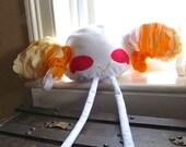 PERCHED Bird Pillow:  .Chiq.