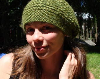 super-soft slouchy hat.  five colors available.