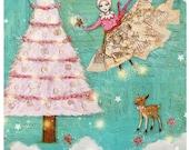The Magic of Christmas Sugar Plum Fairy  - 5 Postcard Set