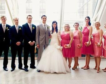 Coral wedding clutches, Personalized bridesmaids gifts, Bridal clutch, Wedding gift, Silk purse, Clutch bag, Clutch purse, Peach, Blush pink