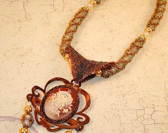 Copper Garden Necklace