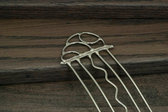 Metal hair fork, stick, comb, hair accessory