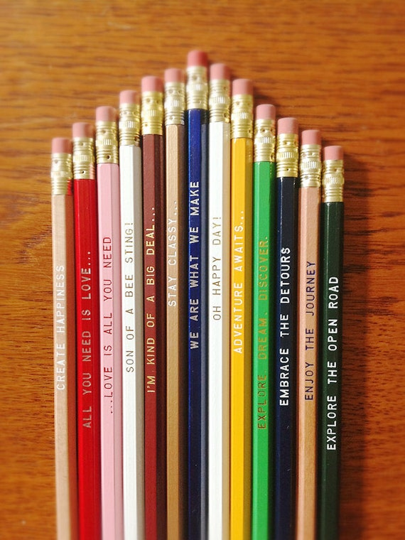 Pick a Pencil 12 Pack Makes a Great Gift - Over 45 to choose from stocking stuffer, gift idea