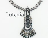Beaded Necklace Tutorial: River Walk Digital Download