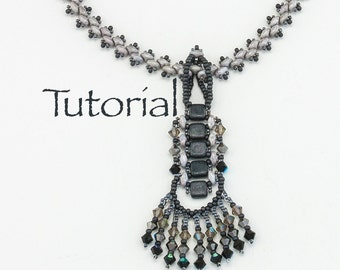 Beaded Necklace Tutorial: River Walk Digital Download