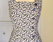 Custom Made Swing Dress From a Vintage 1950's Pattern