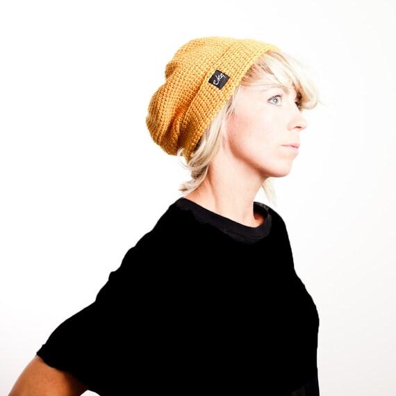 Slouchy Beret Crochet Beanie Hat