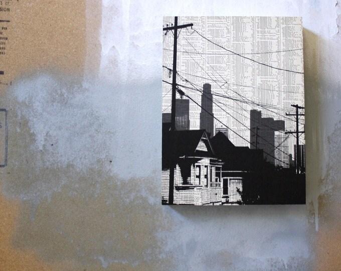 Los Angeles Atlas Page Print - Echo Park