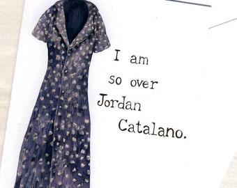 CLEARANCE My So-Called Life card - 1990s fashion, Angela Chase, Jordan Catalano, grunge