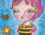 Bee Girl - Print