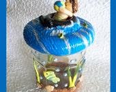 Petey Keepsake Treat or Trinket Jar