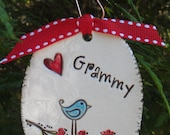 Made to Order - Personalized Ornament for Teacher, Grandma, Co-worker, etc. - CHOOSE ANY NAME
