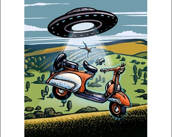 Vespa Abduction