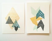 Leah Duncan // Satsuma Press Letterpress Print Set - leahduncan