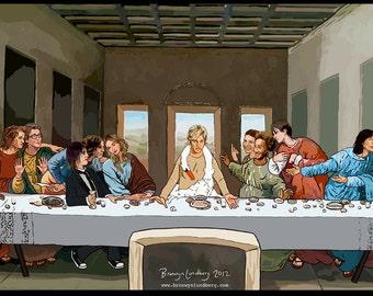 Lesbian Last Supper
