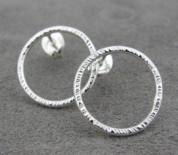 Silver Earrings - Explosion