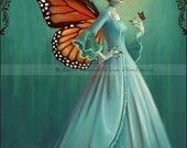 Monarch Fairy 5x7 Fine Art Print