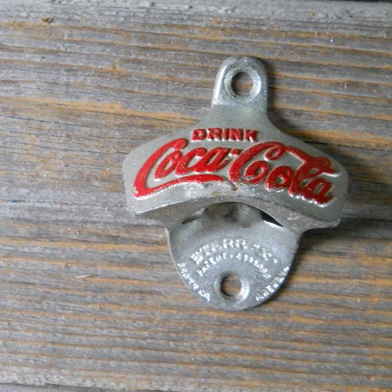 Vintage coca cola bottle opener coke by lisabretrostyle2 on etsy - Antique coke bottle opener ...