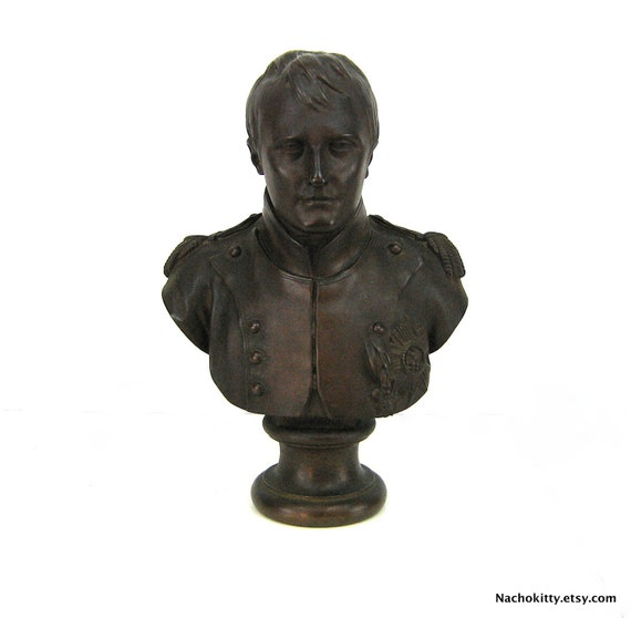 Bronze Bust of Napolean After Houdon, Circa 1850s