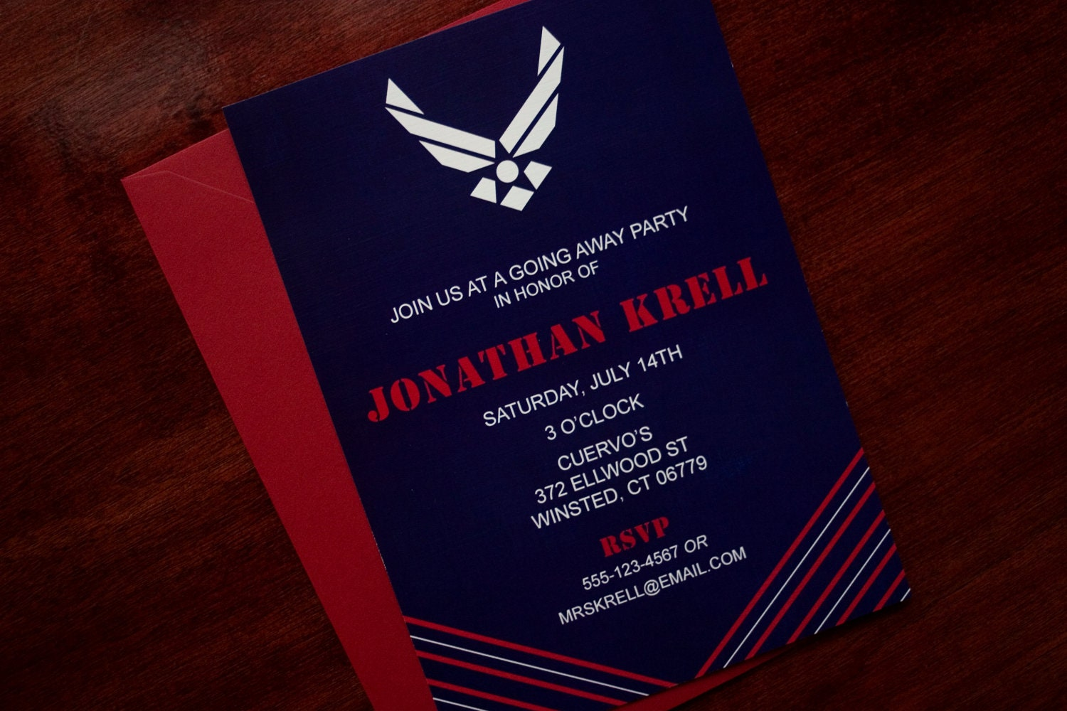 Military Retirement Party Invitations is great invitation ideas