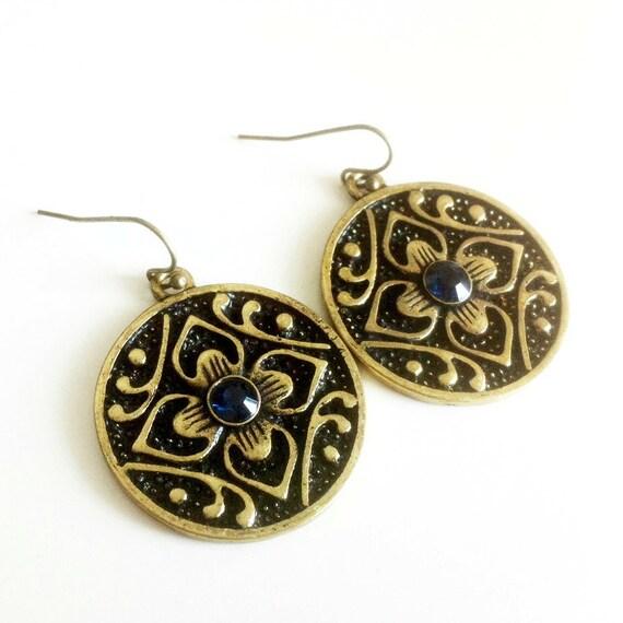 Arabesque Flower Earrings