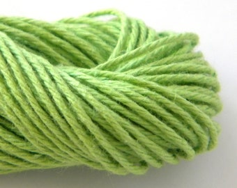 Green Baker's Twine, Solid, 25 yards or 75 feet, Divine Whisker Graphics
