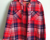 The Thomas Flannel - Pendleton 70s Wool Button-Up Shirt