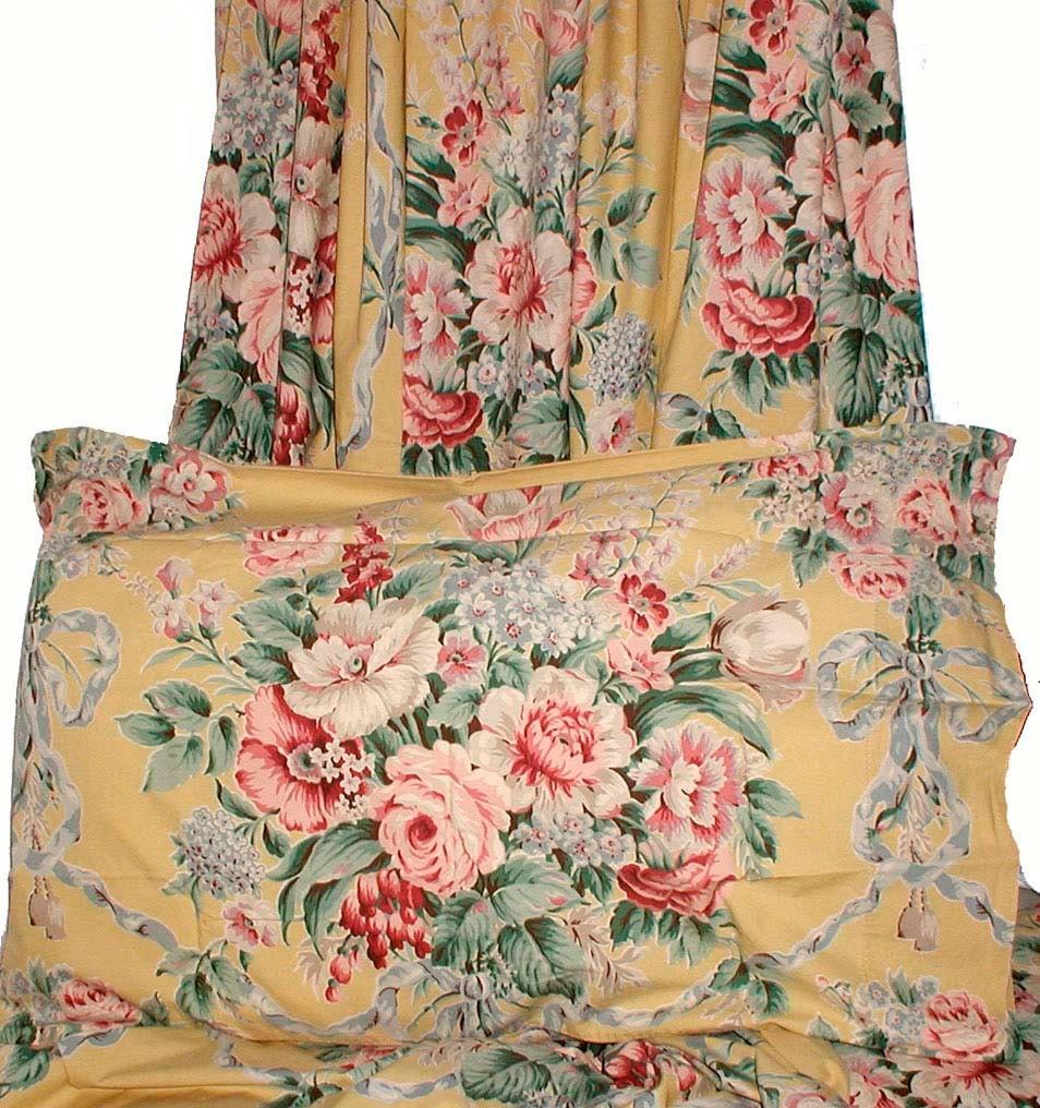 Ralph lauren evelyn floral vintage sheet set by northbirdsong