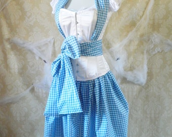 Dorothy/Wizard Of Oz Corset Outfit-Whole Corset Outfit-Made For Buyer