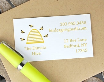 Calling Cards . Custom Calling Cards . Family Calling Cards . Contact Cards . Personalized Calling Cards - Family Hive