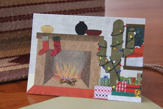 CLEARANCE: Southwestern Christmas Card - Pack of 6