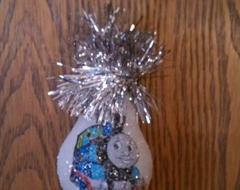 Thomas the Train keepsake light-bulb ornament