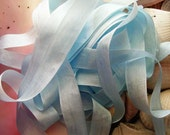 Vintage- Seam Binding -Baby Blue-Ribbon-Silky