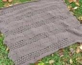 easy crochet lace ripple afghan pattern  - Wells Ripple