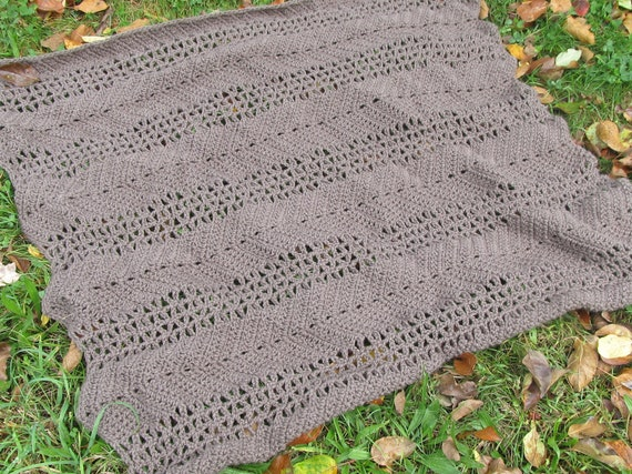 crochet ripple afghan pattern instructions