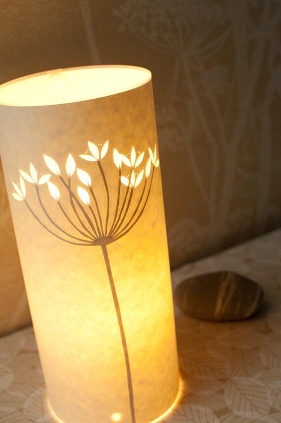 Small Flowering Rush table Lamp