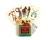 Stocking Stuffer Out West . . . Vintage Cowboys and Indians Card Game
