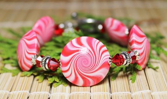 Candy Cane Jewelry Candy Cane Swirl