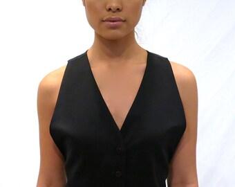 The Tuxedo Vest Dress