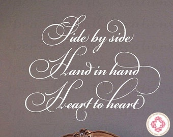 Wedding Vinyl Wall Decal I Have Found The One Whom My Soul