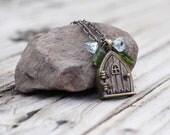 secret garden locket necklace - custom listing for My2Gs