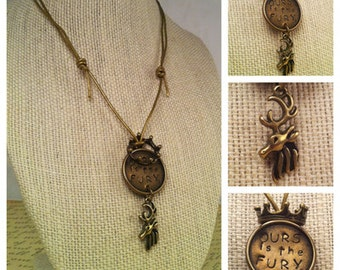 Ours is the Fury - House Baratheon Necklace