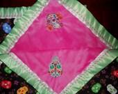 Sugar Skulls Baby Blanket