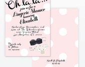 Bridal Lingerie Shower Digital Invitation