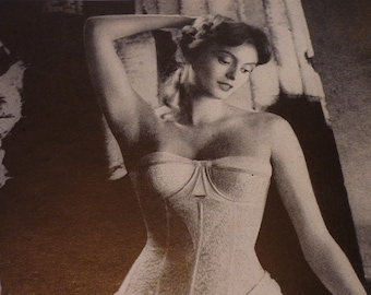 Vintage Ad - Maidenform Girl - Classic Ad from 1940 - Original vintage
